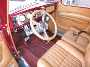 Custom car interior and auto restoration work done right.