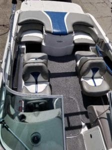 Boat covers, boat seats, boat interior and boat upholstery. We do it all!