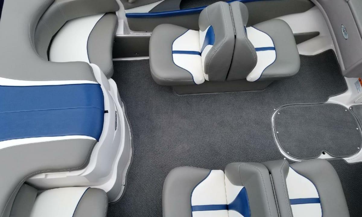 Beautiful boat upholstery   Boat covers   Boat seats   Boat interiors
